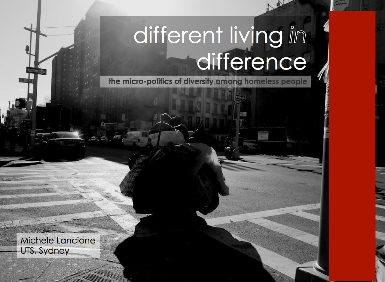 essays and homelessness and diversity Landscapes on the margins: gender and homelessness in of acknowledgment of the fact and diversity of women's homelessness and perhaps as essay, too, the.
